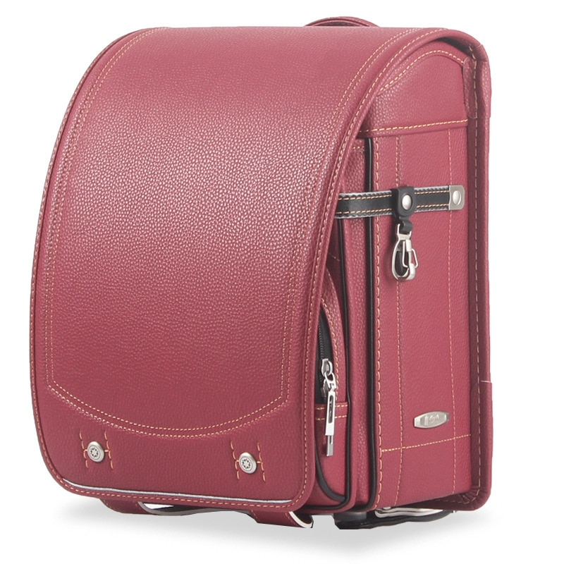 School Bags For girls Boy Children's Backpack PU Leather Japanese school bag Automatic lock orthopedic backpack 2019 NEW