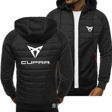 2020 New Men Hoodies for CUPRA Logo Spring Autumn Jacket Casual Sweatshirt Long Sleeve Zipper Hoody