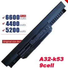 HSW 9 Cells Laptop Battery For Asus K53S K53 K53E K43E K53 K53T K43S X43E X43S X43E K43T K43U A53E A53S K53S Battery