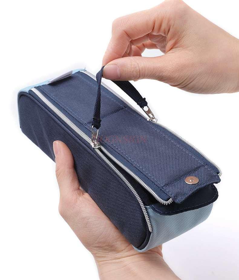 Холщовая пенал, сумка для мужчин и женщин, простая, младшая, старшеклассница, студент, Канцелярия для выпусков, сумка, канцелярская коробка