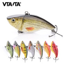 VTAVTA 7cm 18g Rattlin Vib 낚시 미끼 낚시 Wobblers 파이크 낚시 Crankbaits 루어 크랭크 Baits 인공 VIB 미끼 금속