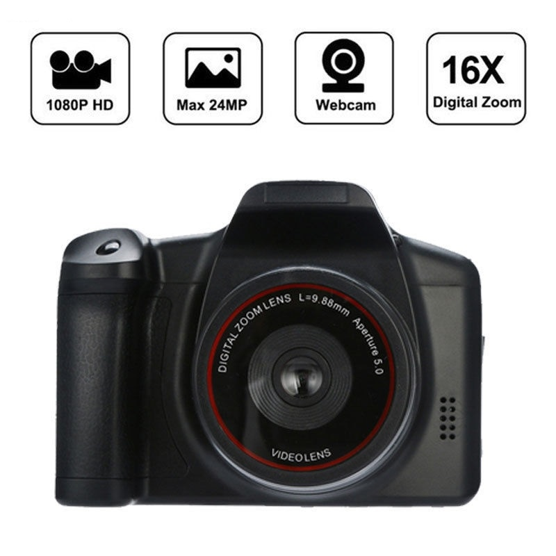 Cámara De vídeo Digital profesional, dispositivo con Zoom Digital De 16X, pantalla...