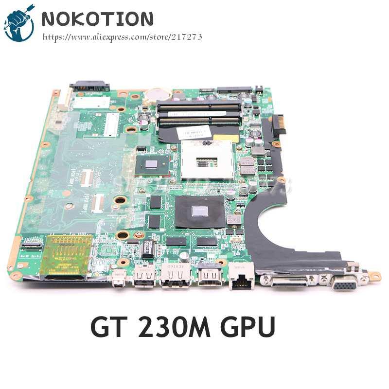 NOKOTION ل HP بافيليون DV7-3000 اللوحة المحمول 580972-001 575477-001 DA0UP6MB6E0 اللوحة الرئيسية PM55 DDR3 GT230M GPU
