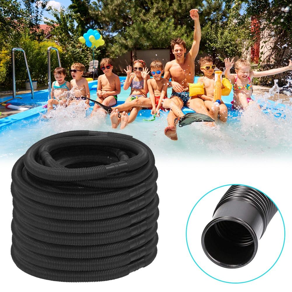 Manguera para piscina reutilizable de 6m, manguera de agua de 32mm de diámetro, lavable, Biofoam, limpiador de piscina resistente al agua