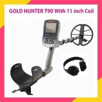 gold hunter t90 gold metal detector professional gold metal detector waterproof underground metal detector pinpointer