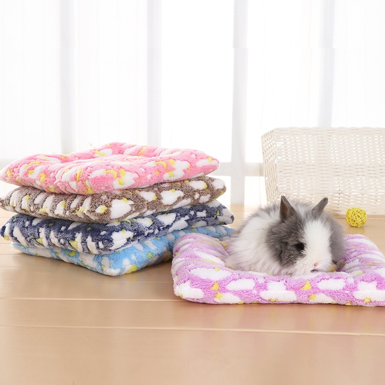 Small Animal Guinea Pig Hamster Bed House Winter Warm Squirrel Hedgehog rabbit Chinchilla mat Nest Accessories