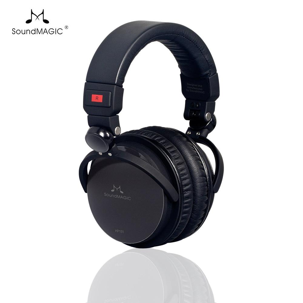 SoundMAGIC HP151 High Fidelity Headset Über-Ohr Kopfhörer Geschlossen-Zurück Klapp Headsets die audiophile kopfhörer