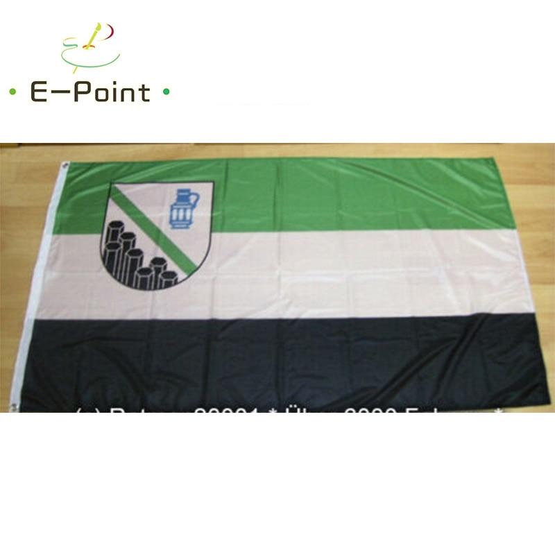 Bandera del Condado de Westerwald 2 pies * 3 pies (60*90cm) 3 pies * 5 pies (90*150cm) tamaño adornos navideños para el hogar Banner