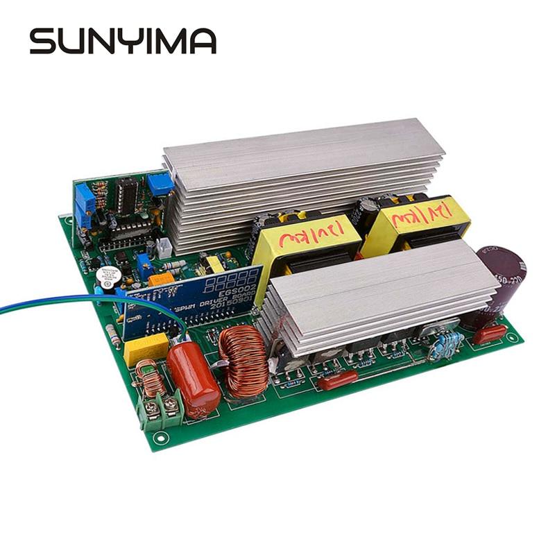 Sunyima 1000W DC12V 220V Pure Sinus Omvormer Energie Converter Core Transformator Sluit De Batterij