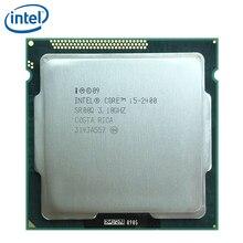 Intel Core i5-2400 i5 2400 3.1GHz dört çekirdekli İşlemci 6M 95W LGA 1155 test 100% çalışma