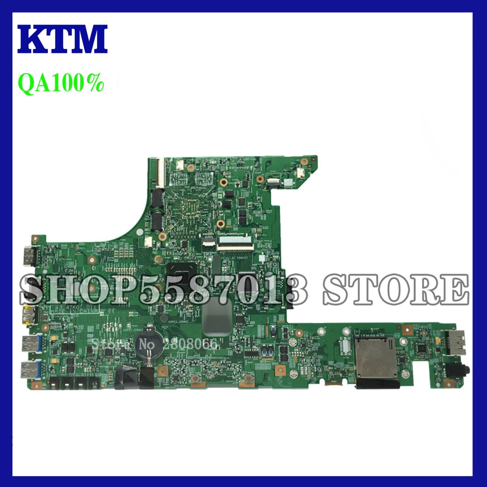KEFU 11310-1 Test Motherboard For Lenovo E49 E49A E49G Laptop Motherboard 11310-1 48.4TK01.011 Motherboard original teste