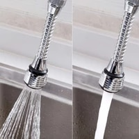 360 degree rotate swivel kitchen faucet aerator adjustable dual mode sprayer filter diffuser water saving nozzle shower spray