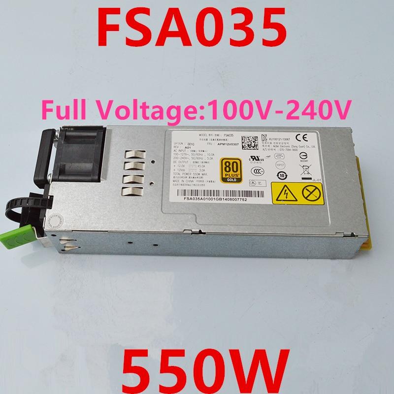 Новый блок питания для AcBel 550W FSA035