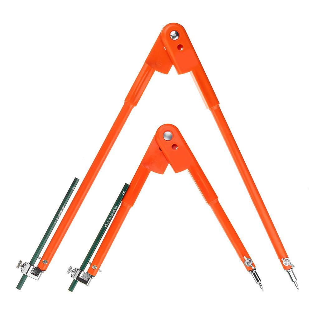 Multifunción círculo marcado línea calibrador distancia carpintería Compasss herramienta trazadora ajuste perilla interruptor para Control de longitud