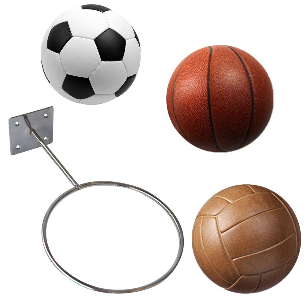 Bola de futebol basquete parede rack de armazenamento esportes bola titular voleibol medicina bola expositor