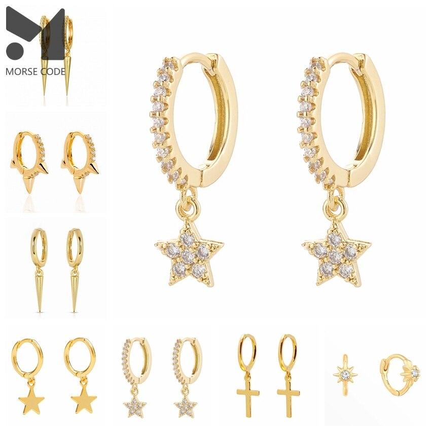 mc-s925-серебряные-женские-серьги-кольца-с-цирконием-сумка-на-плечо-звезда-перекрестная-стрелка-капли-в-стиле-«панк»-из-стерлингового-серебр