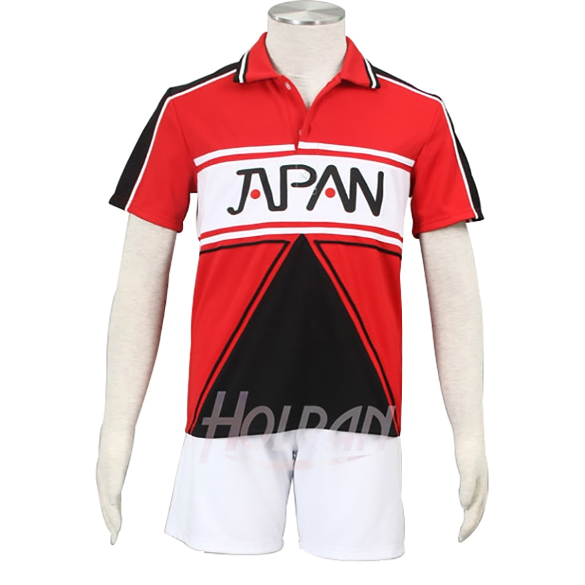 Disfraz de Anime New prince de tenis, uniformes escolares de verano Ryoma Echizen, ropa deportiva para fiestas