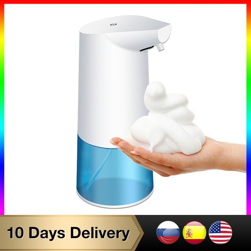 السيارات الحمام موزع الذكية الاستشعار الصابون السائل موزع للمطبخ اليد شحن التلقائي الصابون موزع