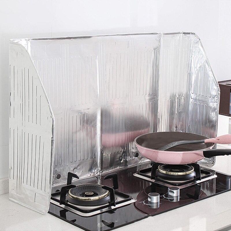 Baffle Kichen Accessories Oil Provide Oil-Proof Kitchenware Aluminum Foil Oil-Proof Kitchen Double Heat-Proof Oil-Proof Baffle