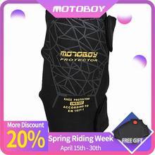 Genouillères de protection pour moto   Genouillères de sport tout terrain, résistant aux chocs et au froid, pour la course au chaud, MOTOBOY pour hommes