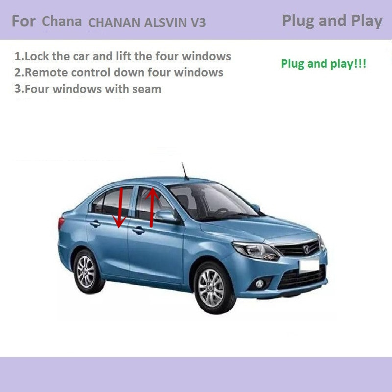 For Chana Chanan Alsvin V3 Car Automatic Window Closer Closing&Open Control By Remote Control Window lifter Accessories