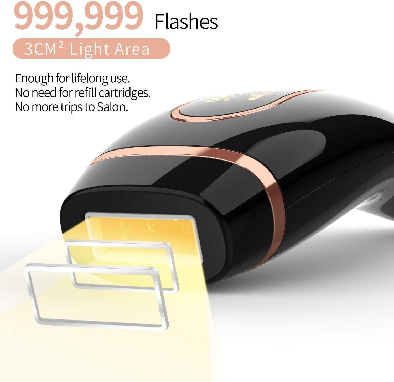 Professional Permanent IPL Hair Removal Laser Epilator For Women 999999 Flash LCD Display Bikini Ipl Laser Hair Removal Machine enlarge