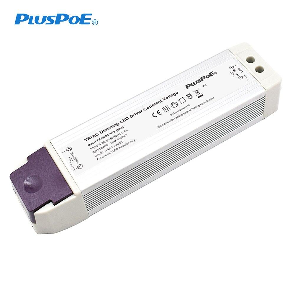 محول إمداد الطاقة لشريط LED وضوء LED ثابت 12 فولت ، 20 واط ، 30 واط ، 50 واط ، باهتة 0-100%