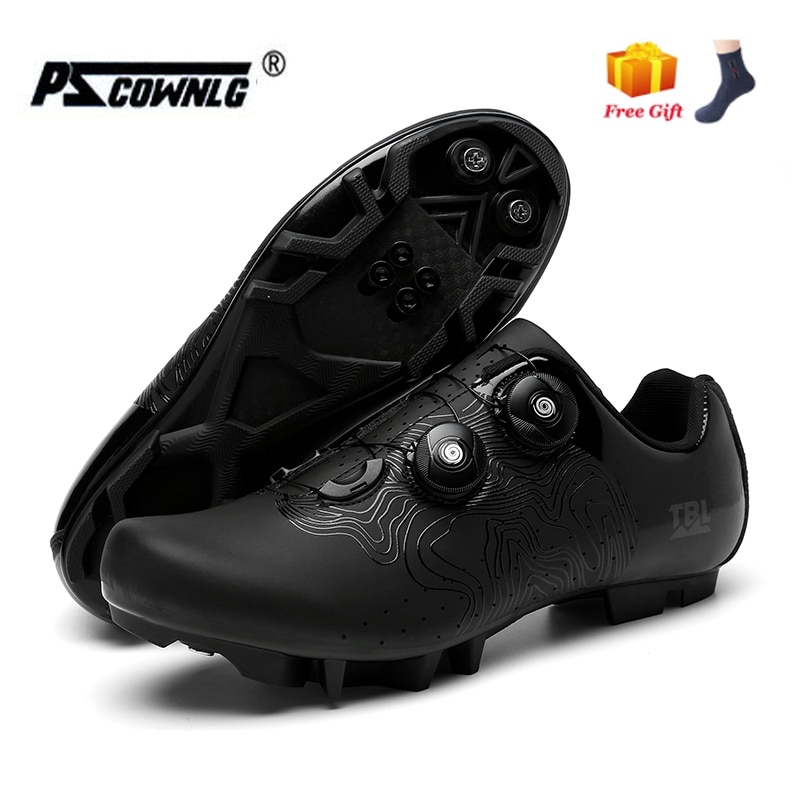 2021MTBCyclingShoesMen Sports Route Cleat Road Bike Speed Flat Sneaker Road BicycleShoes ProfessionalUltralight Cycling Sneakers