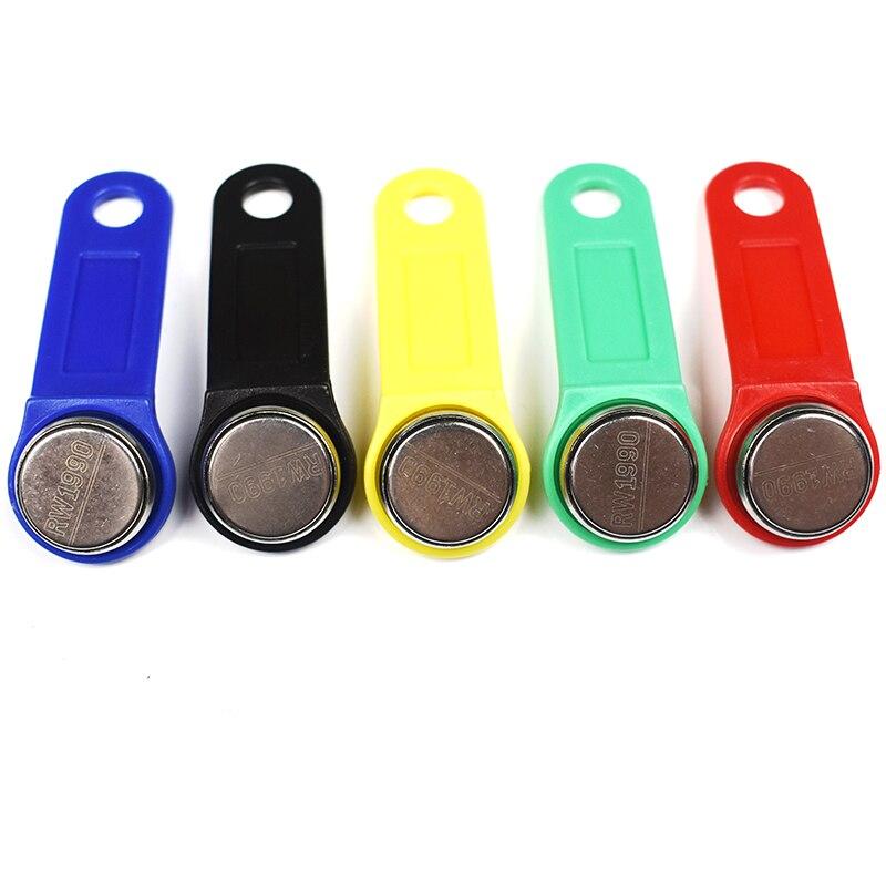 50 قطعة/الوحدة إعادة الكتابة RFID RW1990 IButton TM اللمس الذاكرة استنساخ مكررة مفتاح نسخة بطاقة ساونا مفتاح
