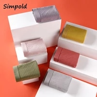 simpold plaid womens panties soft casual solid color panties for ladies sexy lace lingerie breathable lingerier shorts