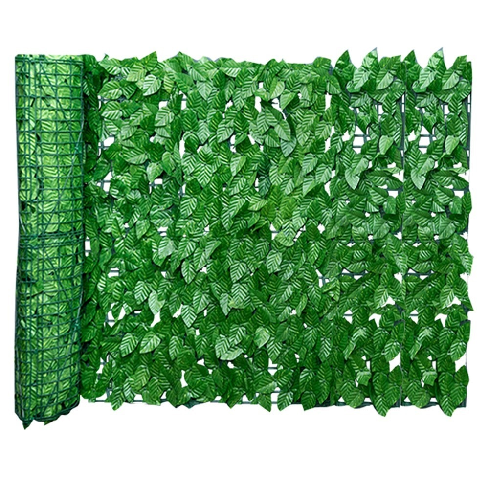 0.5x3m Artificial Ivy Privacy Fence Screen Artificial Hedges Fence And Faux Ivy Vine Leaf Decoration For Outdoor Decor Garden недорого