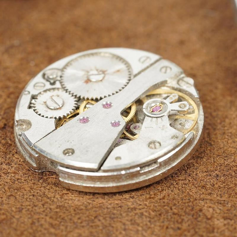 Scrapped Watch Mechanical Movement For DIY Watch Assembly Watch Accessory Exercises Clock Part Scrap