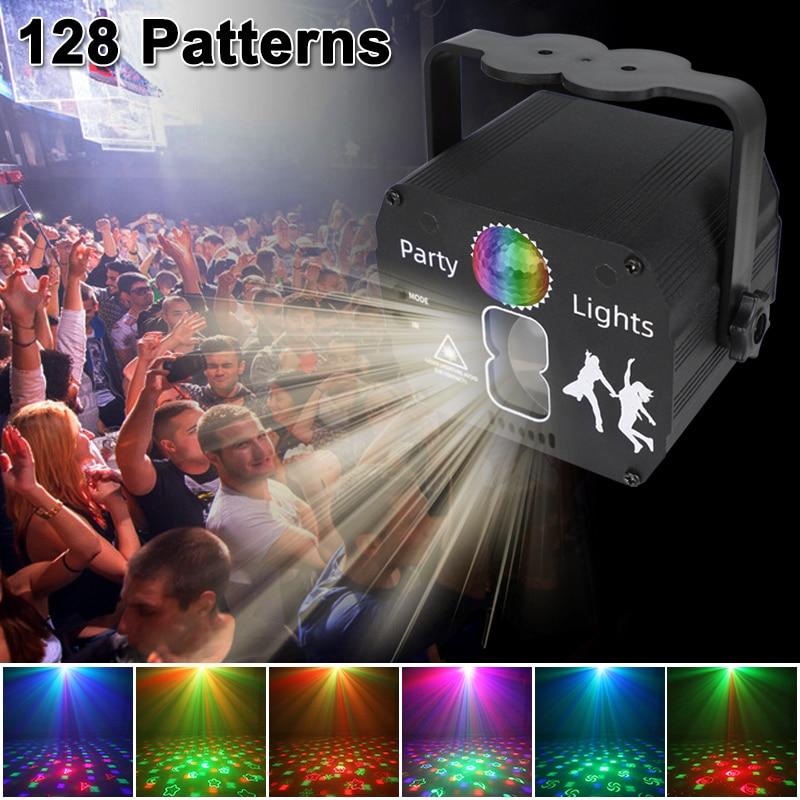 Стробоскопический DJ-прожектор с голосовым управлением