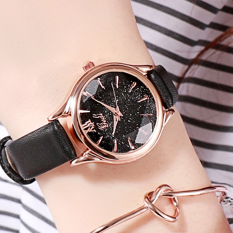 Simple Women Watches Leather Belt Korean Style Artistic Fashion Casual Quartz Ladies Watch Luxury Water Resistant Reloj Mujer enlarge
