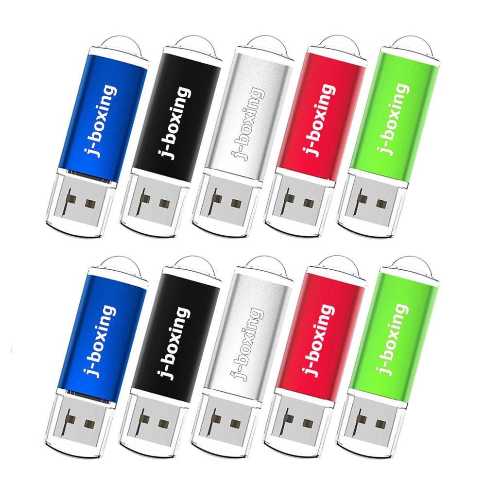 Bulk 10PCS 32GB USB Flash Drive USB 2.0 Flash Pen Stick Pen Drive with Cap for Computer Laptop Tablets Car 32gb usb memory stick