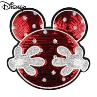 disney decoration handmade cloth sticker fashion wool embroidery patch applique simple cartoon sweater hole repair