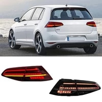 car led taillights assembly for volkswagen golf 7 modified mk7 water steering tail lightcar accessories