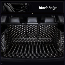Custom Kofferbak Mat Voor Audi A3 A4 A5 4 Deur A5 2 Deur A6 Wagon A7 A8/A8L q2 Q3 Q5 Q7 4 Seat 5 Seat S1 2 Deur S4 SQ5 RS3 RS4