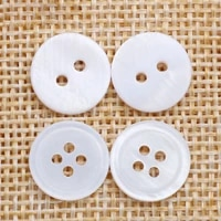 natural shell sewing button scrapbooking 2 holes round button 4 holes scrapbooking clothing garment sewing accessories diy 50pcs