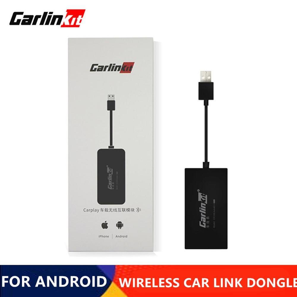 Carlinkit-Adaptador inalámbrico A3 para Apple Carplay, Dongle automático para Android, Iphone, USB,...