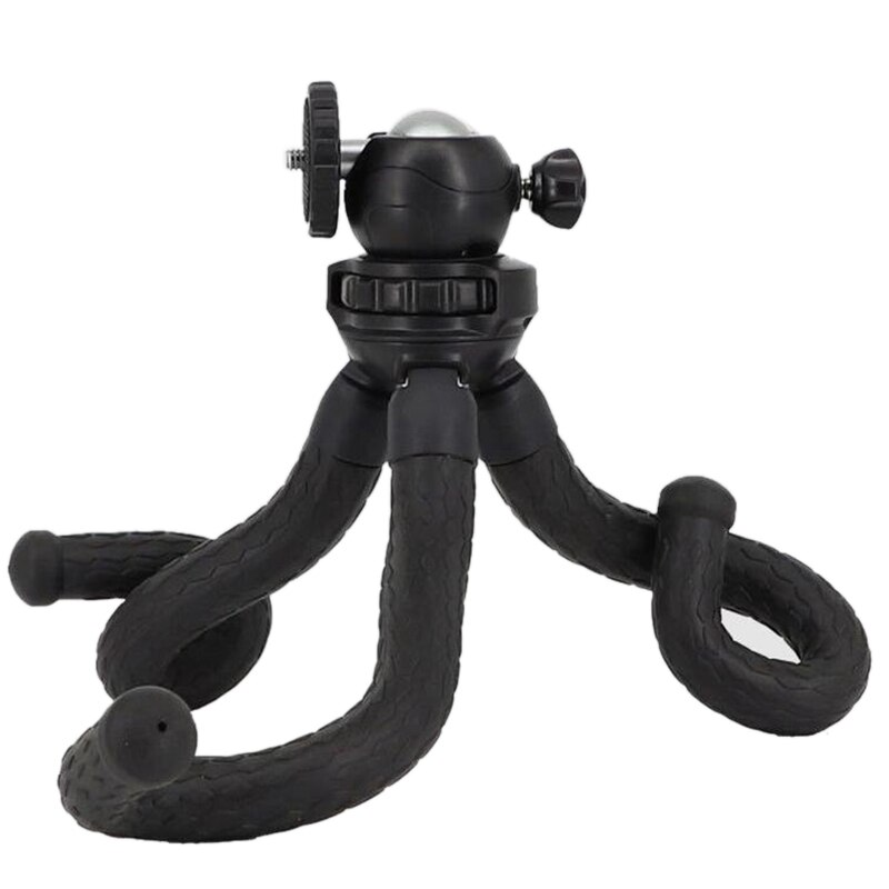 Phone Portable and Adjustable Tripod Stand Holder with 1 4 Inch Screw Interface for iPhone Gopro Digital Camera