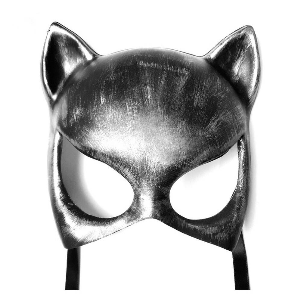 Fashion Steampunk Devil Mask Halloween Cosplay Party Festival Retro Cat Mask Daft Punk Helmet Samurai Mask Steampunk Accessories