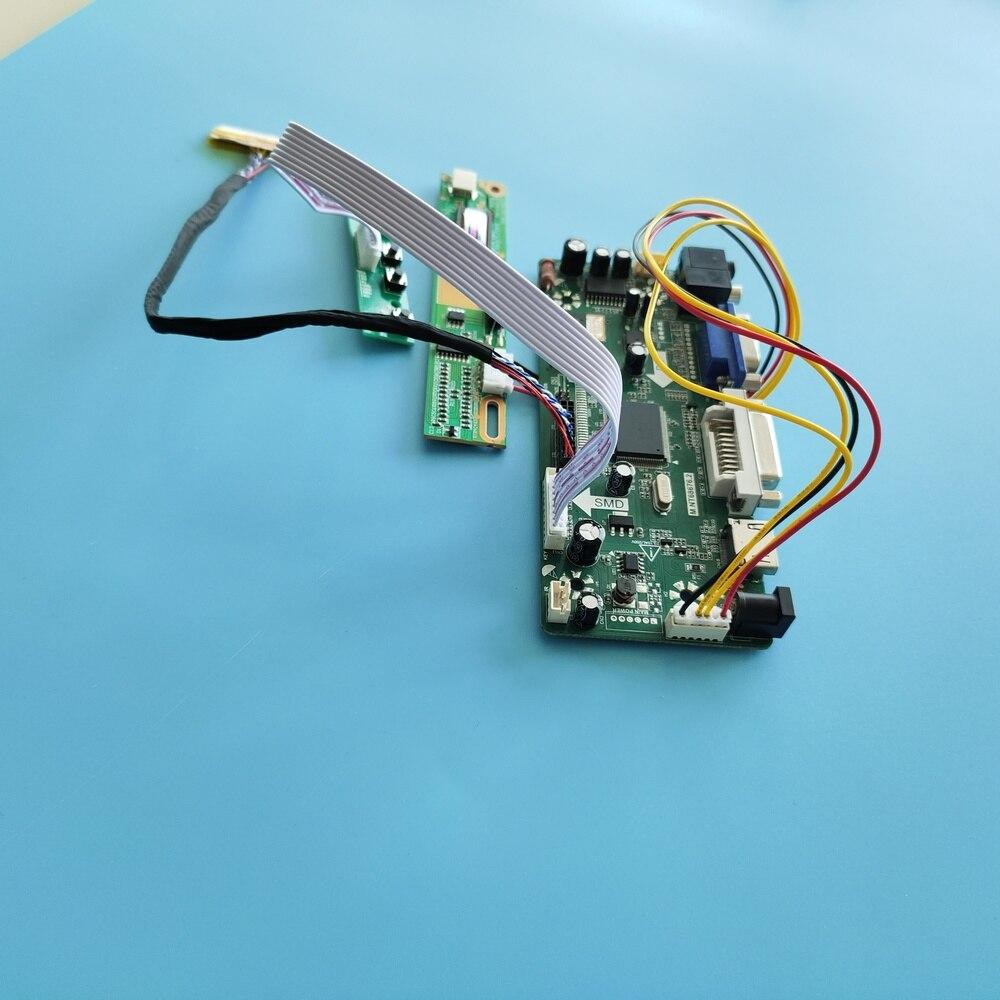 Hdmi + dvi + vga kit para lp154w01 tl placa de controlador 30pin m. nt68676 1280x800 lcd painel de exibição de áudio moitor
