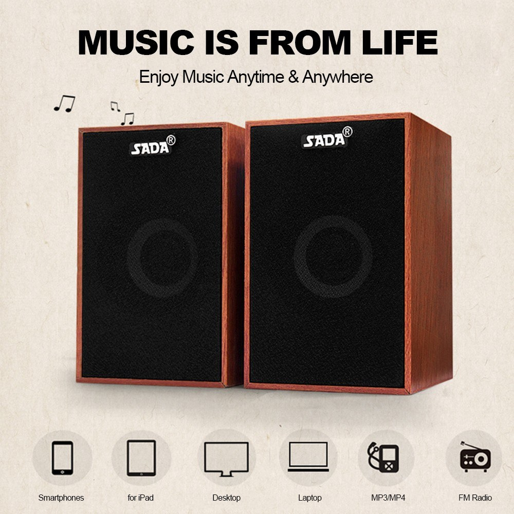 USB проводной деревянный комбинированный динамик s компьютерный динамик бас стерео музыкальный плеер сабвуфер звуковая коробка для настольного ноутбука планшета ПК