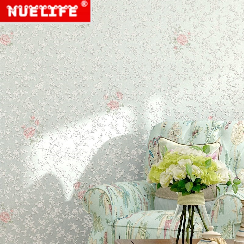 Papel tapiz autoadhesivo para dormitorio, dormitorio, mesita de noche, pared de oficina, romántico, floral, dormitorio, belleza, papel tapiz para salón