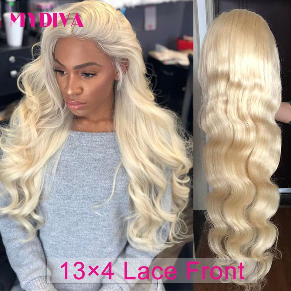 شعر مستعار مموج طبيعي ، شعر أشقر 613 ، 13 × 4 ، شعر بشري ، كثافة 250 ، للنساء