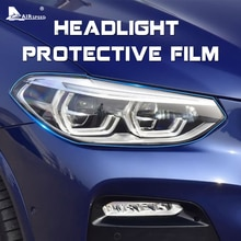 AIRSPEED-Film de protection pour phare   Film de protection pour BMW F07 F10 F15 F16 F25 F26 F30 F34 F36 F48 G11 G01 G30 G32, accessoires