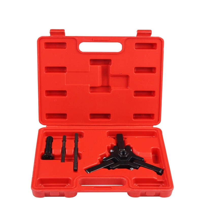 Professional Harmonic Balancer Tool Crankshaft Pulley Puller Kit Harmonic Balancer Puller for Chrysler Mazda Dodge Hyundai