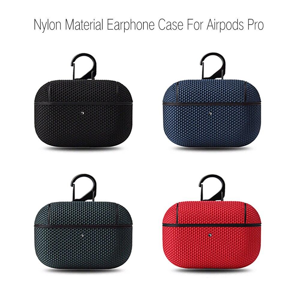 Фото - Нейлоновый чехол для Apple Airpods pro, защитный чехол для беспроводных Bluetooth наушников Apple Air Pods Pro 3, чехол для Airpods pro 3rd чехол joyroom jr bp598 для apple airpods pro red