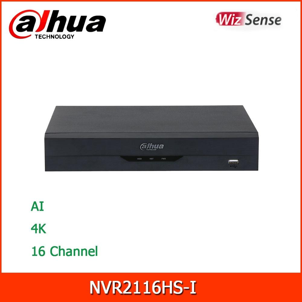 جديد داهوا AI 4K NVR NVR2116HS-I 16 قناة المدمجة 1U WizSense شبكة مسجل فيديو